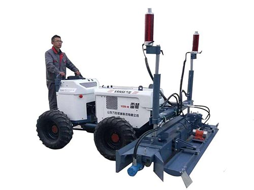 YZ25-4E handheld type concrete laser screed