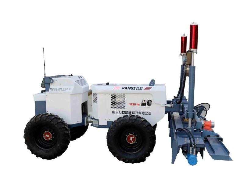 YZ25-4E remote type concrete laser screed